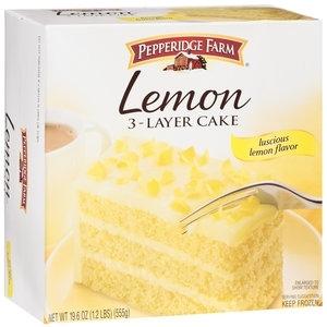 Pepperidge Farm 3-Layer Lemon Cake, 19.6 oz