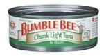 Bumble Bee Premium Chunk Light Tuna in Water (5 oz )