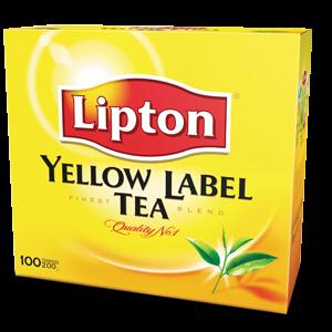 Lipton yellow label tea, 100ct
