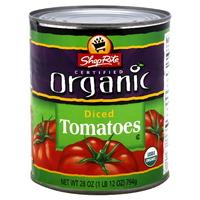Shoprite, Organic diced tomatoes