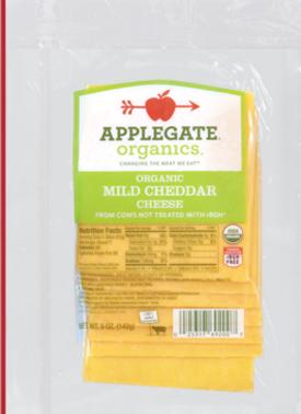 Applegate mild cheese