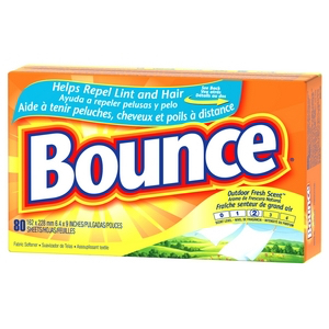 Bounce, dryer sheets