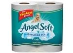 Angel Soft Toilet Paper, 4ct