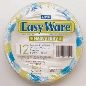 Aspen Easy Ware Plastic Coated Paper 12O, 24 pack