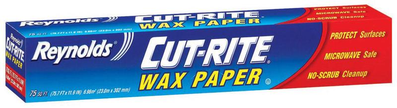 Cut-rite Wax Paper, 75 sq ft