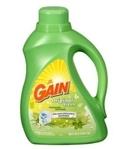 Gain 2x Ultra For High Efficiency Machines Liquid Laundry Detergent, Original Fresh Scent, 100 fl oz