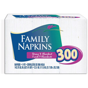 Family Napkins 300-count
