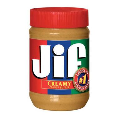 JIF Creamy Peanut Butter, 18 oz