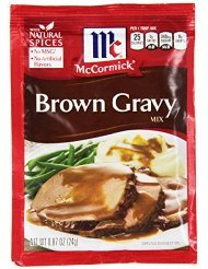 Gravies: Brown Gravy Mix, .87 Oz