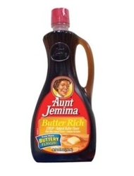 Aunt Jemima, Butter Rich Syrup, 24 OZ
