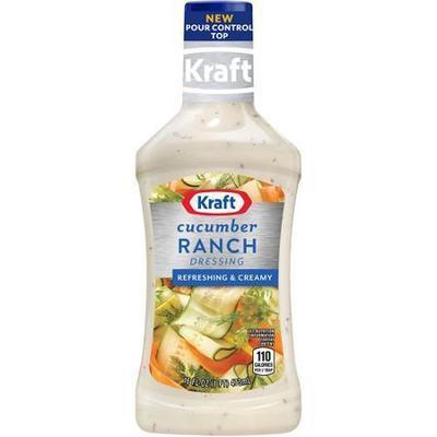 Kraft Cucumber Ranch Dressing & Dip, 16 oz
