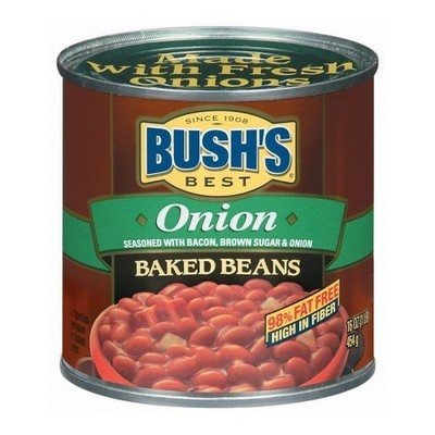 Bush's Best Onion Baked Beans, 16 oz