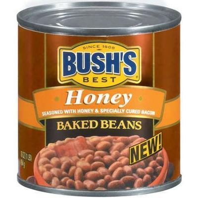 Bush's Honey Baked Beans, 16 oz