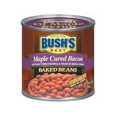 Bush's Maple Cured Bacon Baked Beans, 16 oz