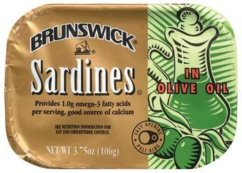 Brunswick: In Olive Oil Sardines, 3.75 Oz