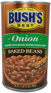 Bushs Best Baked Beans - Onion (28 oz ea)