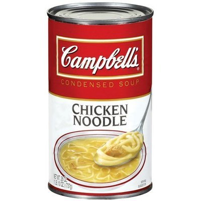 Campbell's Chicken Noodle R&W Condensed Soup, 26 Oz