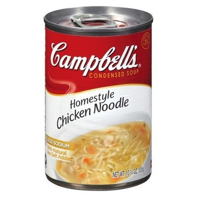 Campbell's Homestyle Chicken Noodle Condensed Soup, 10.75 Oz