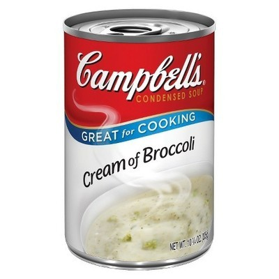 Campbell's: Cream Of Broccoli Condensed Soup, 10.75 Oz