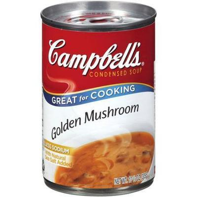 Campbell's: Golden Mushroom Condensed Soup, 10.75 Oz