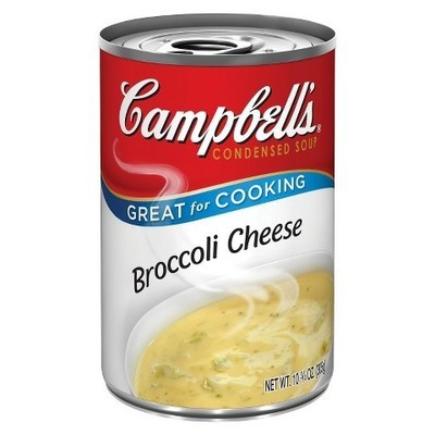 Campbells Broccoli Cheese Condensed Soup, 10.75 Oz