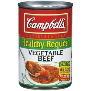 Campbells Vegetable Beef Condensed Soup, 10.5 Oz