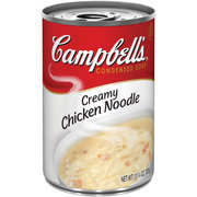 Campbells: Creamy Chicken Noodle Condensed Soup, 10.75 Oz