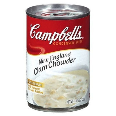 Campbells: New England Clam Chowder Condensed Soup, 10.75 Oz
