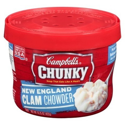 Campbells: New England Clam Chowder Select, 15.3 Oz