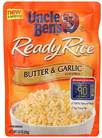Uncle Bens Butter & Garlic Ready Rice, 8.8 oz