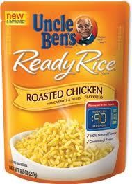 Uncle Bens Ready Rice Roasted Chicken   8.8 oz