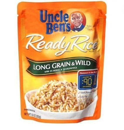 Uncle Bens Ready Rice Long Grain & Wild 8.5 oz