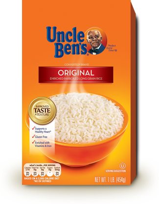 Uncle Bens - White rice, original 2lb