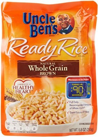 Uncle Bens Ready Rice Whole Grain Brown  8.8 oz