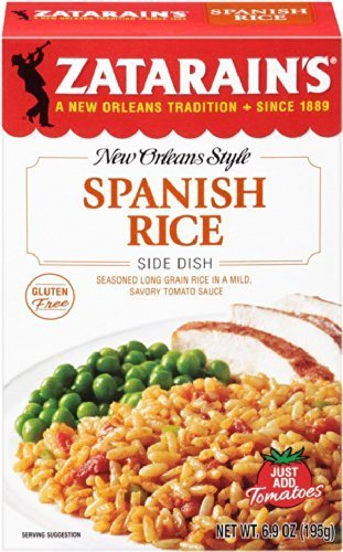 Zatarains New Orleans Style Spanish Rice, 6.9 oz