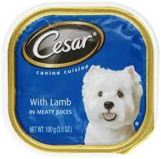 Cesar Canine Cuisine With Lamb In Meaty Juices Dog Food, 3.5 oz