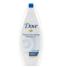 Dove moisturizing body wash