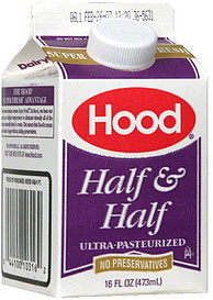 Half and Half cream 1 pint