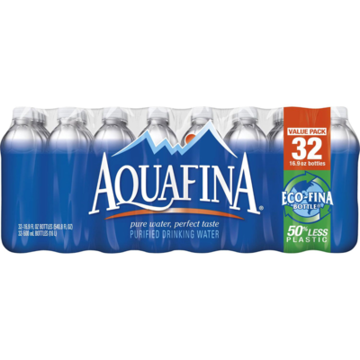 Aquafina Water, 16.9 oz 32 case