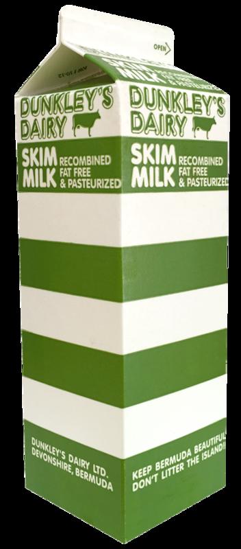 Dunkley's Dairy Skim Milk- Half Gallon