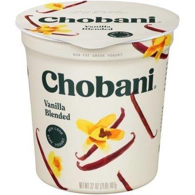 Chobani Greek low fat Tub Vanilla Yogurt