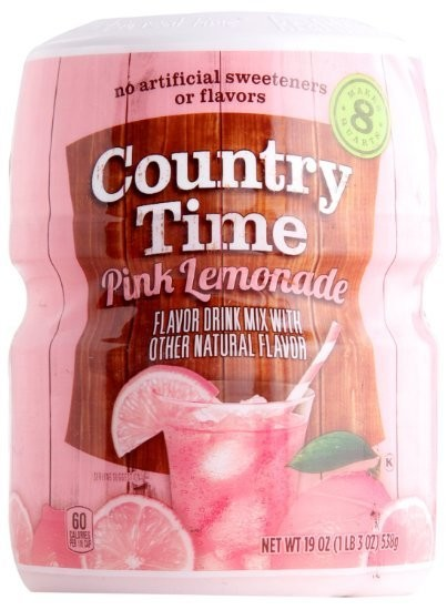 Country Time Pink Lemonade, Makes 8 Quarts