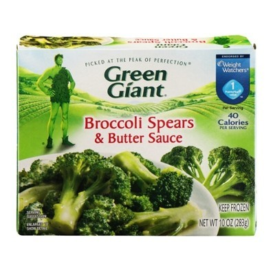 Green Giant: Broccoli Spears & Butter Sauce, 10 Oz
