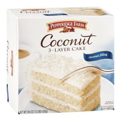 Pepperidge Farm 3-Layer Coconut Cake, 19.6 oz