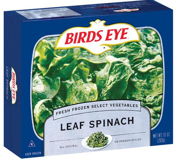 Birds Eye, Spinach Leaf, 10 oz (Frozen)