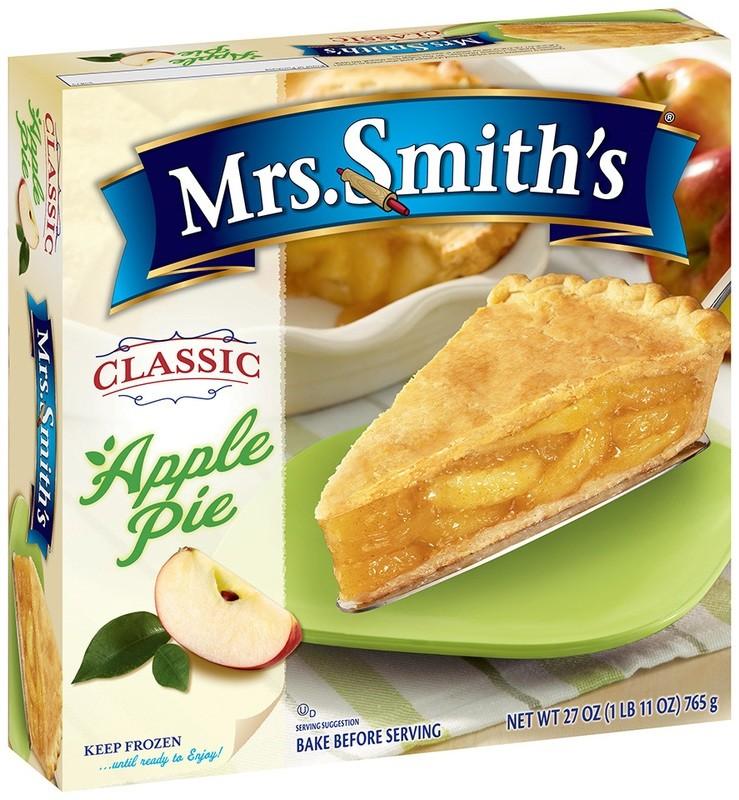 Mrs. Smith's: Pre Baked Apple Pie, 37 Oz