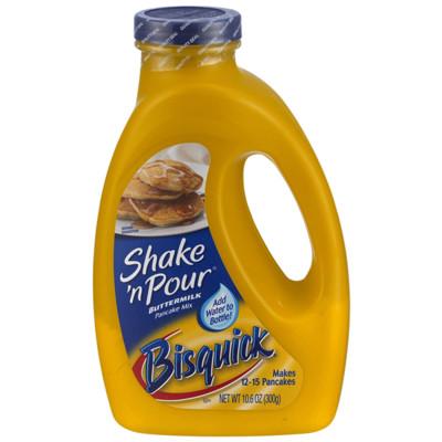 Bisquick Shake 'N Pour Buttermilk Pancake Mix, 10.6 oz