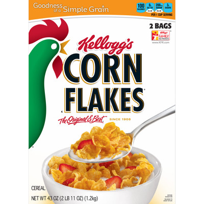 Kelloggs corn flakes 43oz