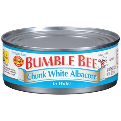 Bumble Bee: Albacore Chunk White In Water Tuna, 8 Oz
