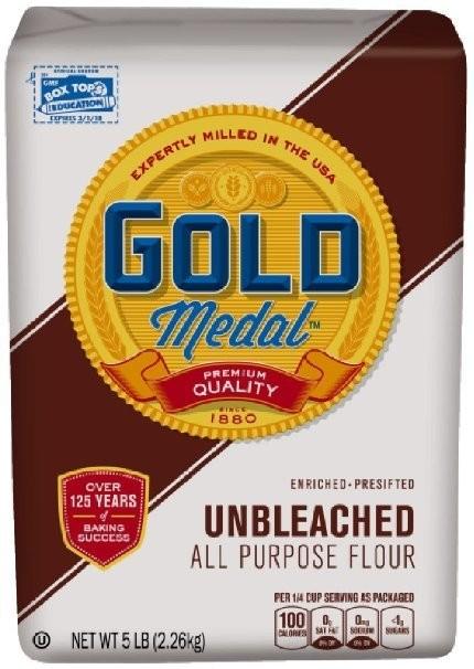 Gold Medal: Unbleached All-Purpose Flour, 5 Lb